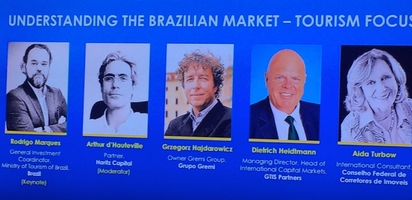 Brazil Conference at MIPIM, Cannes,  March 17, 2016